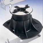 Övre och undre hållare för sockel till avslutning av Pronto Klinkerdäck®